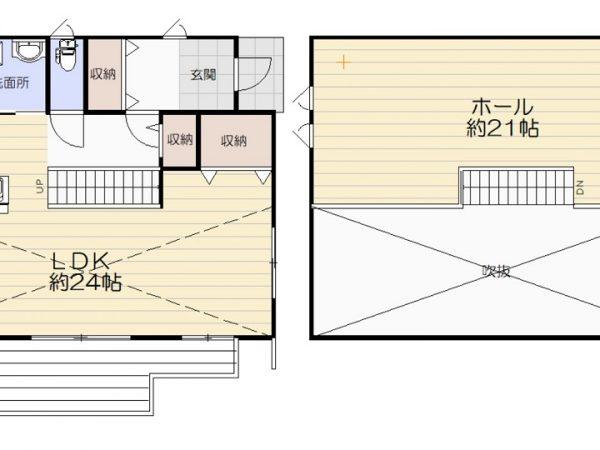 石巻前谷地No.18平屋
