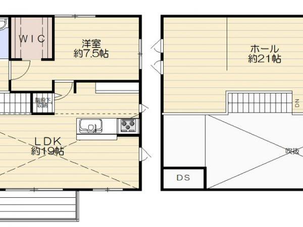 石巻前谷地No.17平屋